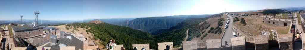Panorama du mont Aigual
